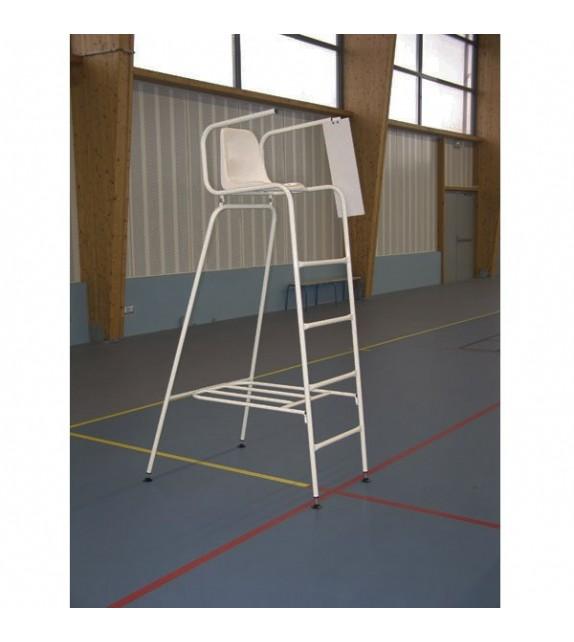 chaise d 39 arbitre de tennis acier. Black Bedroom Furniture Sets. Home Design Ideas