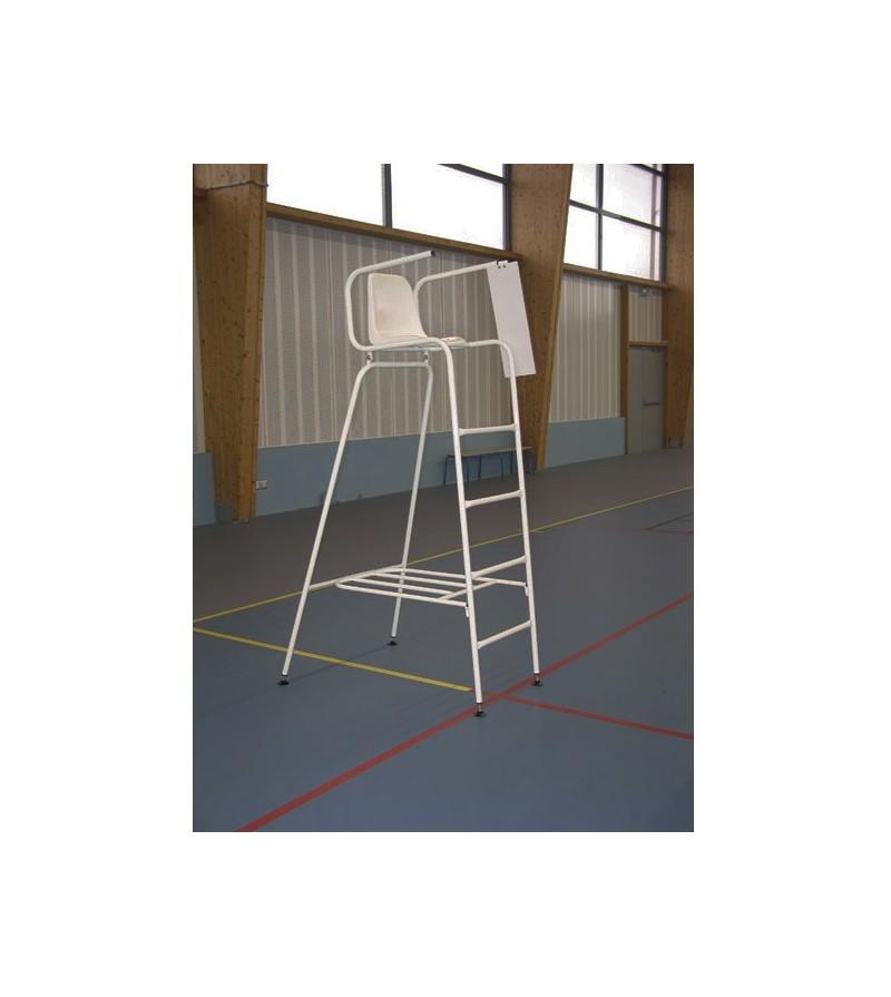 Chaise d 39 arbitre de tennis acier for Chaise arbitre tennis