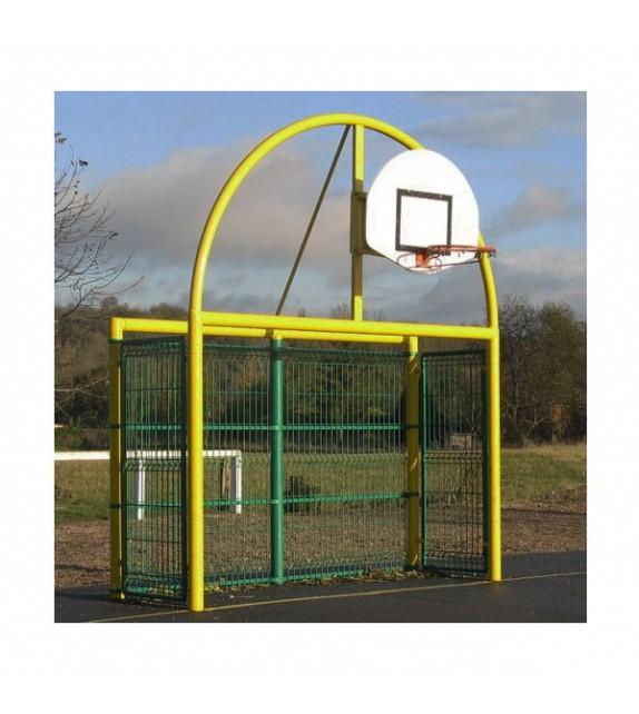 Fronton multisports Foot-Basket-Hand Antivandalisme
