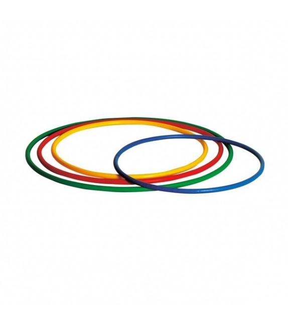 4 cerceaux ronds 4 couleurs - diamètre : 65cm