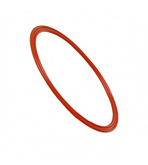 Cerceau plat rouge - diamètre : 60cm