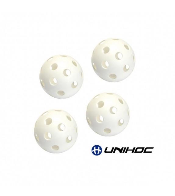 4 balles creuses Unihockey