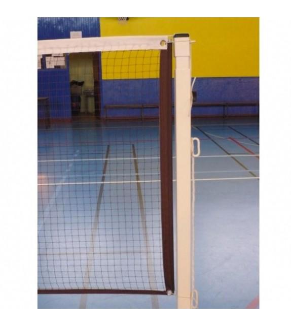 Filet homologué avec badminton compétition