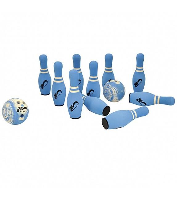 Soft Bowling - 10 quilles + 2 balles