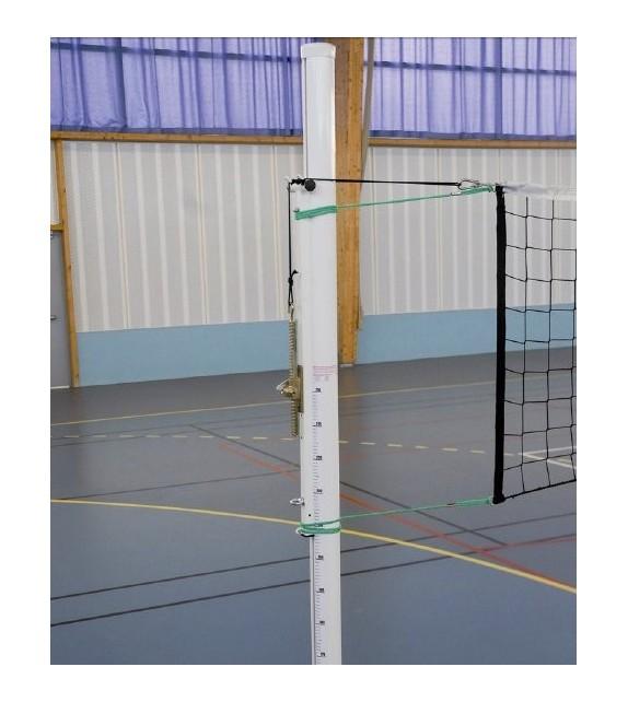 Paire de poteaux de volleyball entraînement