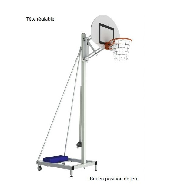 But de basket mobile - 260cm et 305cm