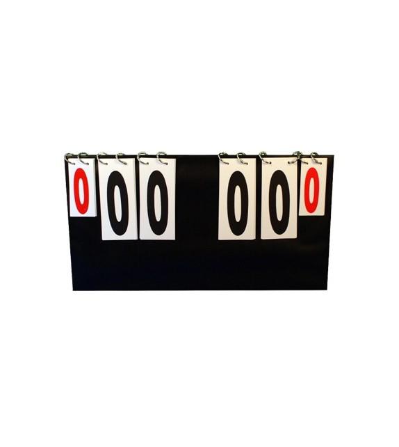 Marqueur pliable modèle de table 00-99