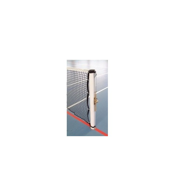 Paire de poteaux de Tennis acier rond 90mm