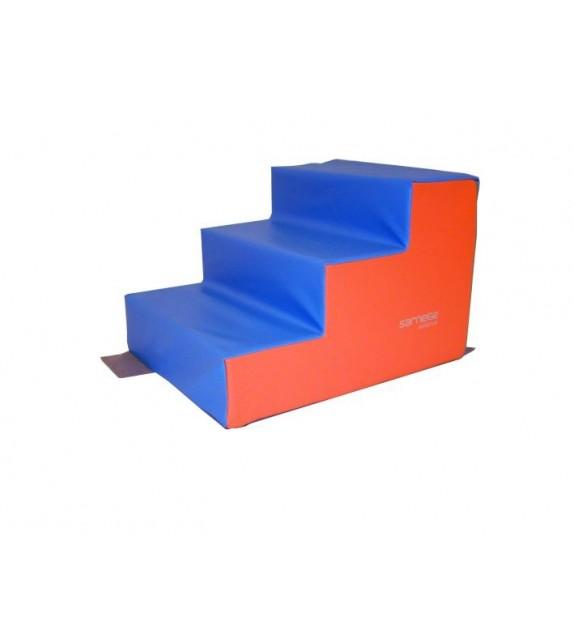 escalier 3 marches 60x50x13 40cm sportibel sa. Black Bedroom Furniture Sets. Home Design Ideas