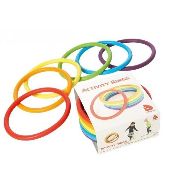 24 anneaux d'activé flexibles - 6 couleurs