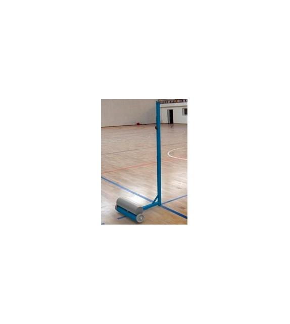 Paire de poteaux de badminton compétition