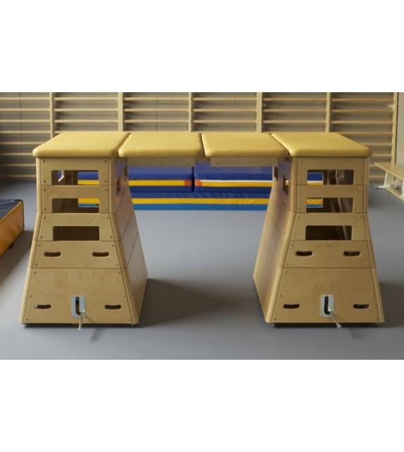 Ensemble Plinth 2xDelta en multiplex premium - 5 caissons