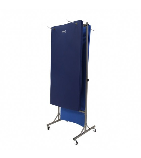 Porte nattes de gymnastique mobile