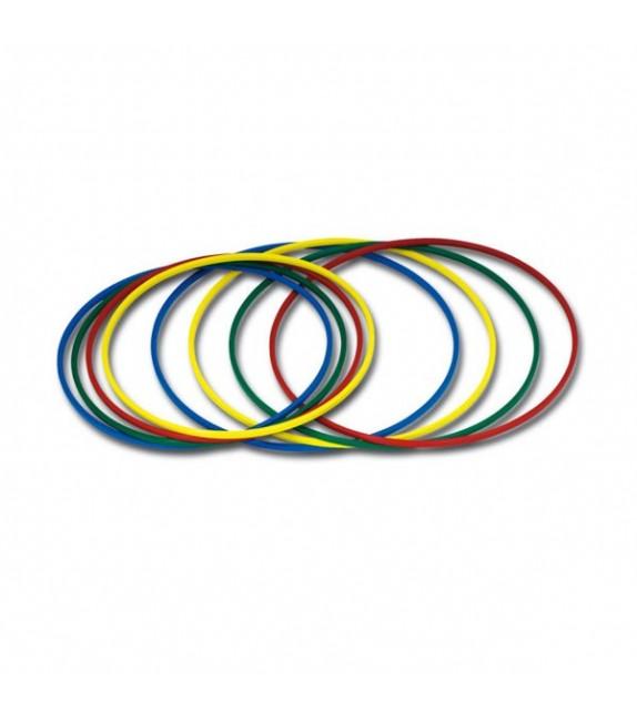 Set de 10 cerceaux ronds - diamètre : 85cm