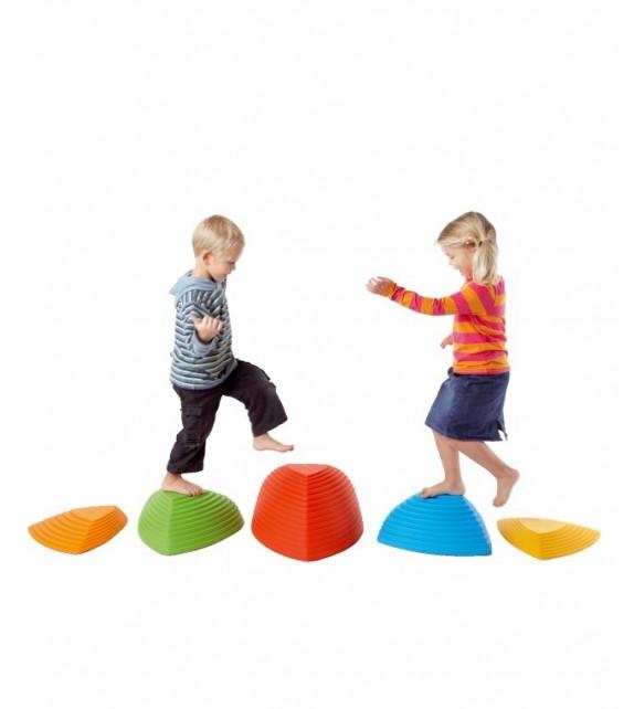 Collines d'équilibre - jeu de 5