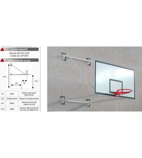 But de basket mural indoor - Variable