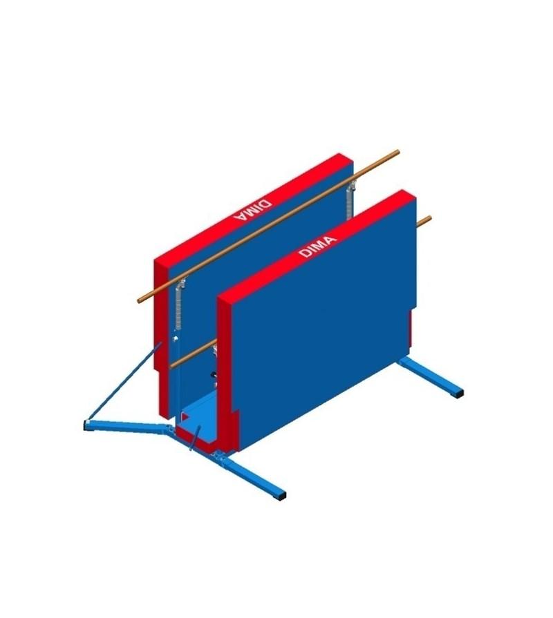 barres mixtes dima roulement repliable matelas. Black Bedroom Furniture Sets. Home Design Ideas