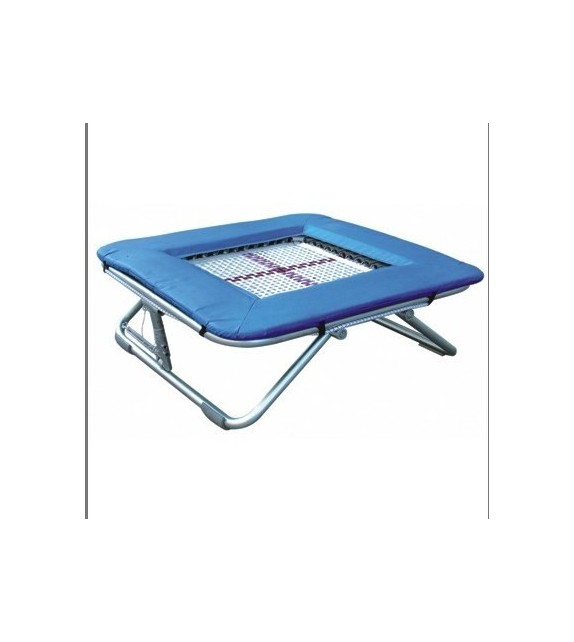 Mini trampoline Pro à ressorts 1.13m x 1.13m