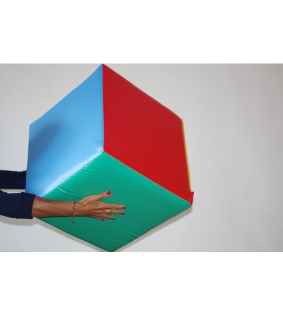 Cube pour la pratique du Poull Ball en mousse