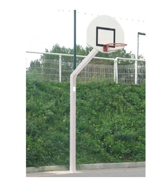 Poteau de basket 10x10cm dép 1.2m Training Rectangle