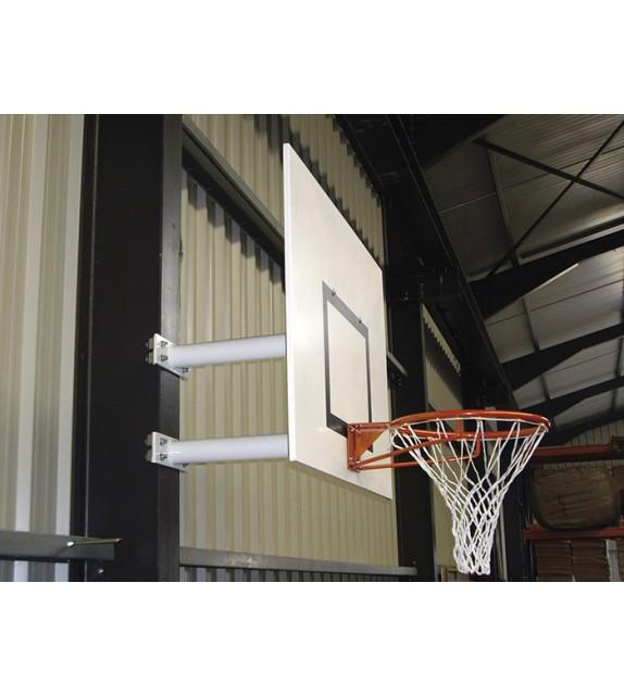 But de basket mural attache double - extérieur