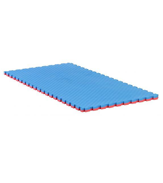 Lot de 4 tapis puzzle réversibles 4x200x100cm