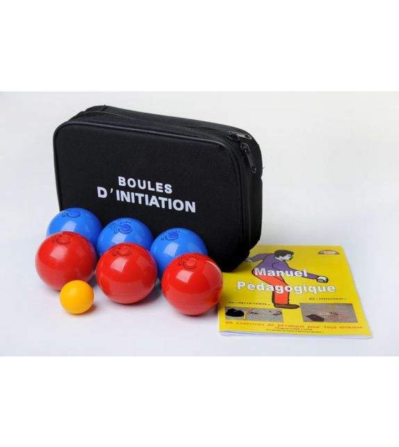 6 Balles de pétanque molles 200gr 65mm- junior