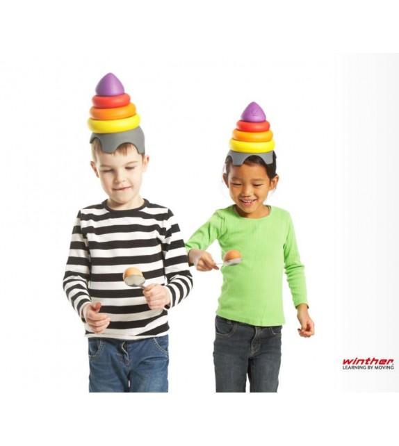 Chapeau de clown - pour exercices de maintient