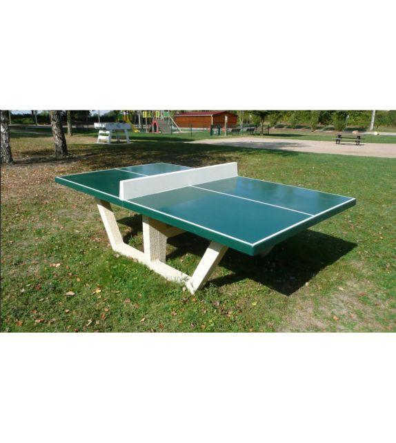 Table ping pong en Béton