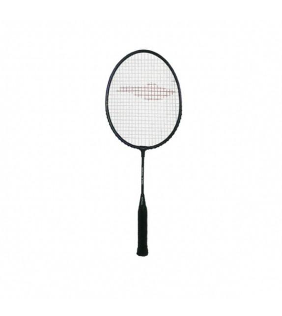 Raquette de badminton tige:acier tête:alu 54cm