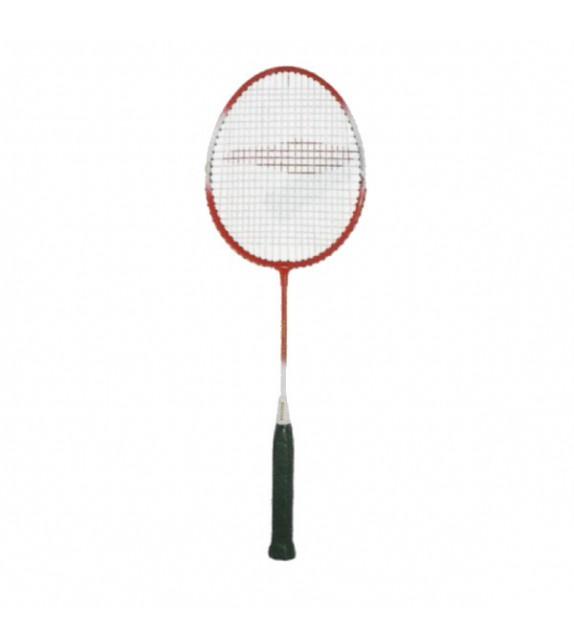 Raquette de badminton tige:acier / tête:alu 61cm
