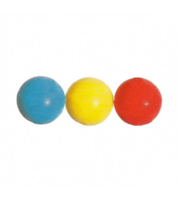 Set de 3 balles de tennis en mousse diamètre 9 cm