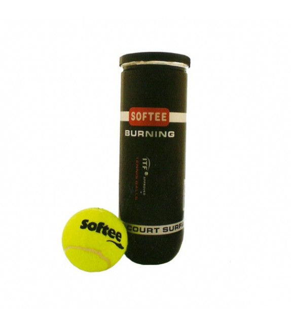 Set de 3 balles de tennis avec pression