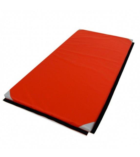 Tapis gymnastique classic 2mx1mx4cm associatif et coins renforcés