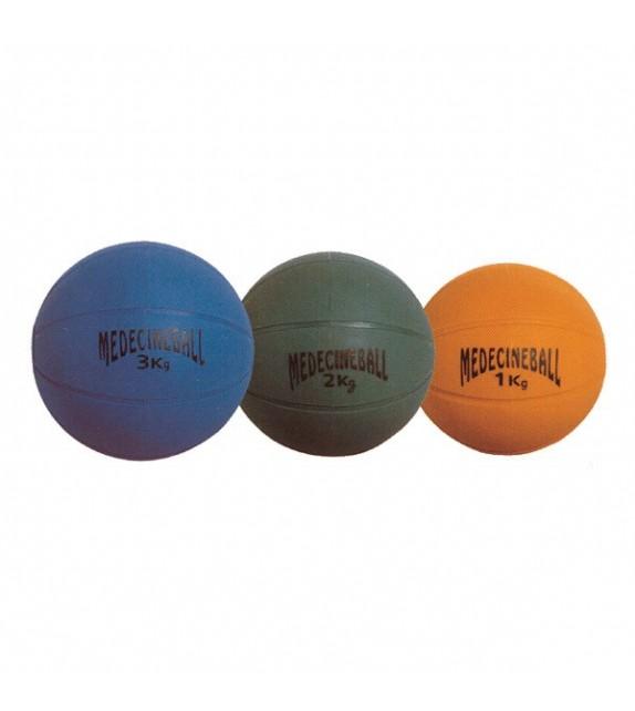 Medecine ball non gonflable PVC 3kg