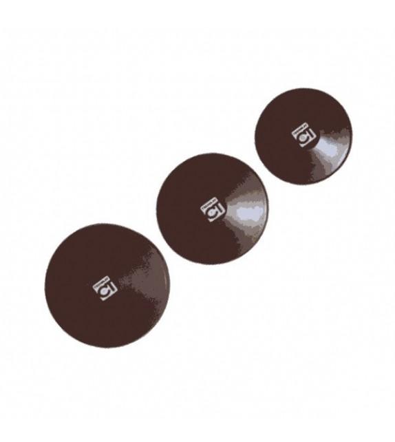 Disque à lancer -caoutchouc noir densifié 1.5kg