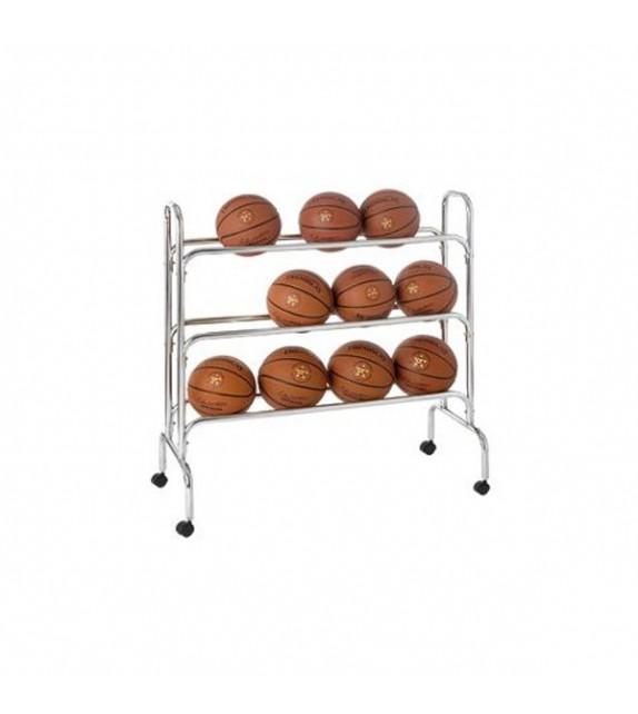 Rack de rangement pour ballons 105 cm x 43 cm x 105 cm