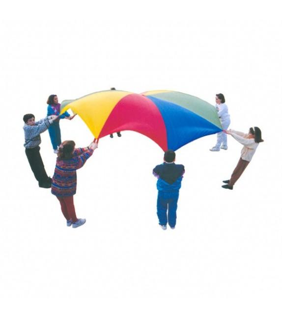 Parachute - diamètre 6m - 12 poignées