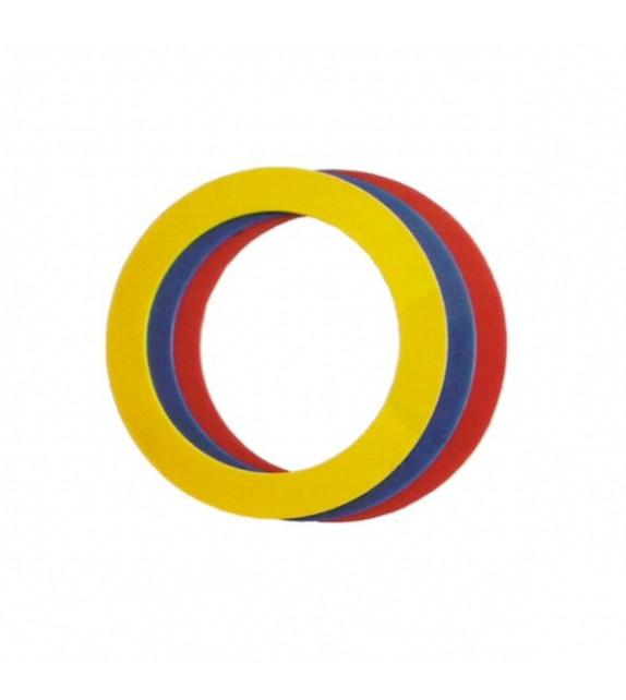 Set de 3 anneaux 24 cm pour exercices de jonglerie