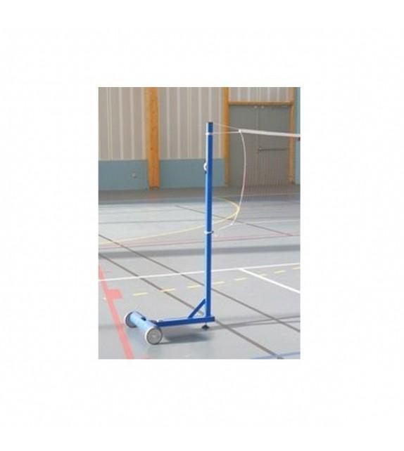 Paire de poteaux de badminton lestés à 25kgs