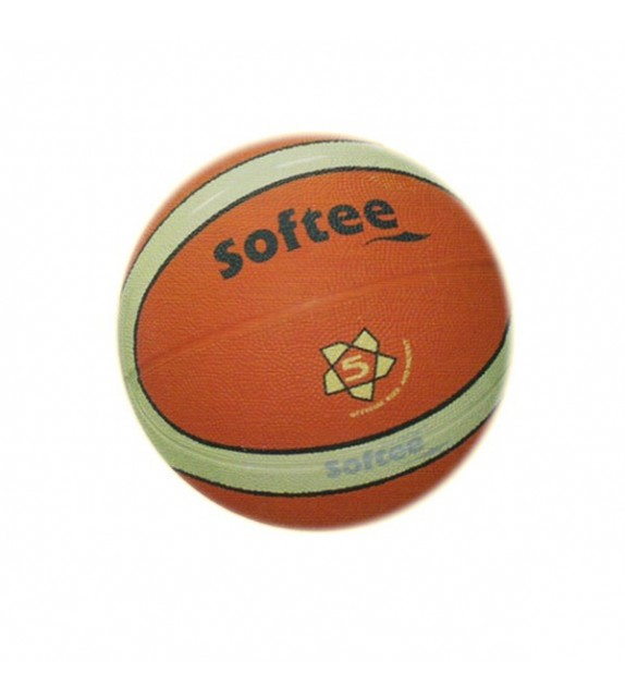 Ballon basketball T5 caoutchouc carcasse nylon