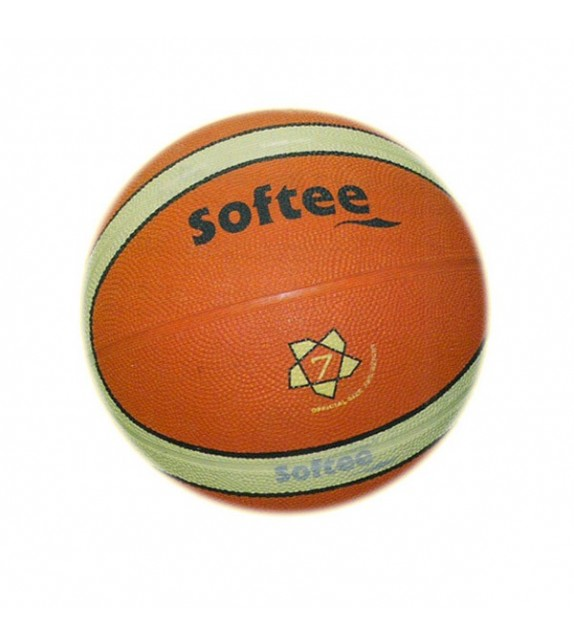 Ballon basketball -T7- caoutchouc carcasse nylon