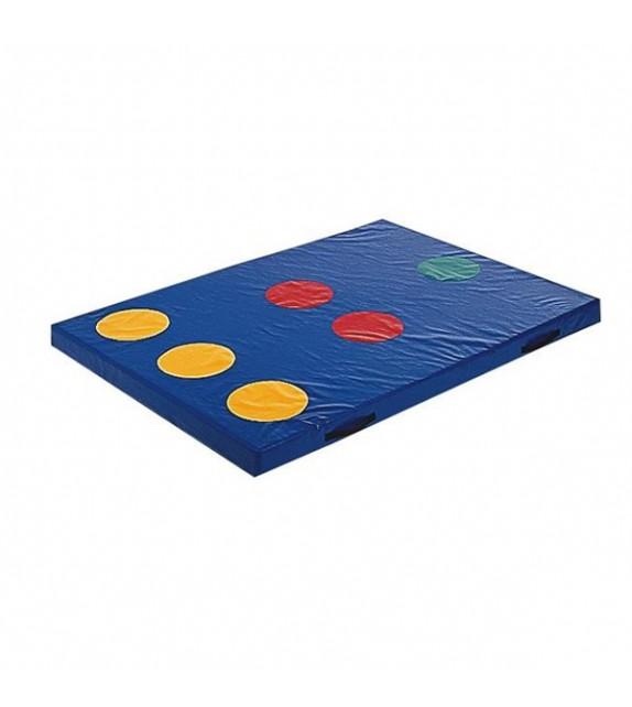 Matelas cible 1 190x140x10cm bleu