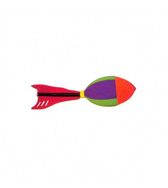 Fusée volante en mousse