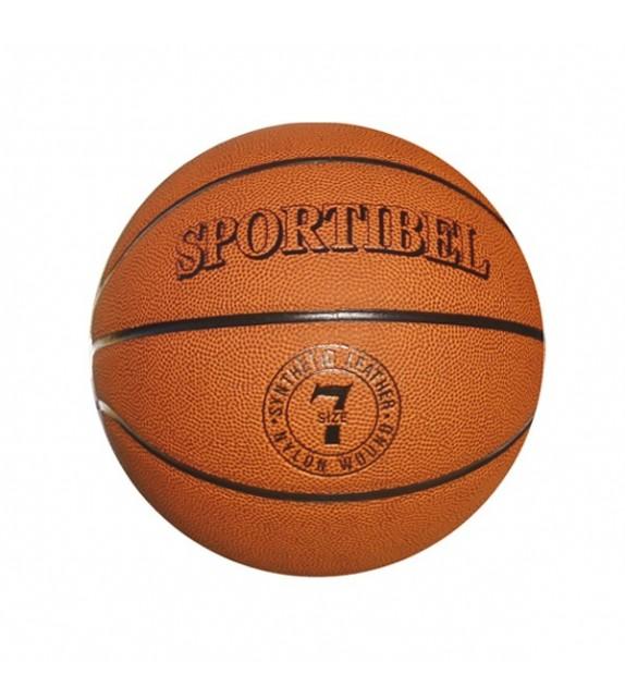 Ballon basketball taille 7 matériau synthétique